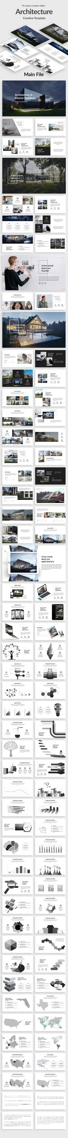 Architecture and Interior Powerpoint Template - Creative #PowerPoint #Templates Download here: https://graphicriver.net/item/architecture-and-interior-powerpoint-template/20045624?ref=alena994