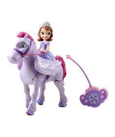 This Sofia the First & Walking Minimus Remote Control Set by Sofia the First is perfect! #zulilyfinds