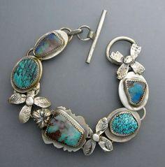 Boulder Opal Bracelet with Turquoise
