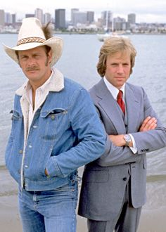 Simon and Simon starring Gerald McRaney and Jameson Parker. Loved this show and Magnum PI