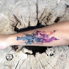 • S O L A R • S Y S T E M • ☄ #planets #sun #galaxy #nebula #nebulatattoo #solarsystem #universe #abstract #abstracttattoo #watercolor #watercolortattoo