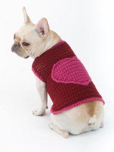 The Romantic Dog Sweater
