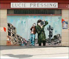 Conheça a arte de rua de Jana & JS