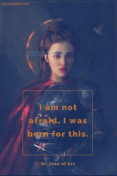 Welcome to A Great Big Faith Catholic Quotes, Catholic Art, Catholic Saints, Roman Catholic, Catholic Theology, Patron Saints, Saint Joan Of Arc, St Joan, Bride Of Christ