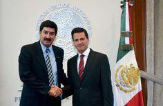 El Presidente Enrique Peña Nieto se reunió con el Gobernador Electo de…