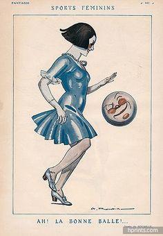 Roubille 1921 Feminine Sport