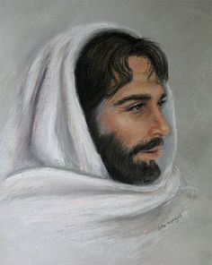 Christian Art Portrait of Jesus Print by dellartist on Etsy, $25.00