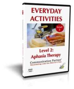 Everyday Activities - Aphasia Therapy Video by Kimerly Robins. SLP Pinned by SOS Inc. Resources. Follow all our boards at  http://pinterest.com/sostherapy  for therapy resources