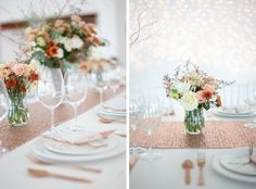 Autumn Glitter Styled Shoot by Veronique Photography | SouthBound Bride