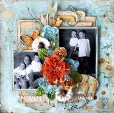 Auntie Em's Scrapbooking & Beading: PRIMA MARKETING WITH CARI FENNELL!!!