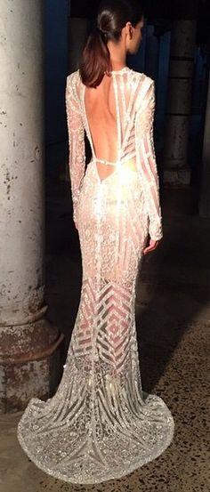 Steven Khalil #StevenKhalil Couture Wedding Gown
