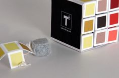 Tea cube tea packaging