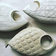 Pescher House - Richard Neutra, Wuppertal - Germany, by Iwan Baan Clay Fish, Ceramic Fish, Ceramic Birds, Ceramic Pottery, Ceramic Art, Ceramic Animals, Clay Animals, Richard Neutra, Wuppertal Germany
