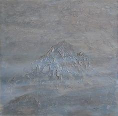 Vzpomínka na Kailáš (Remembering Kailas) Acrylic on canvas, 80x80cm, © Mirek Vojáček Hyperrealism, Paintings, Abstract, Art, Craft Art, Summary, Painting, Kunst, Gcse Art