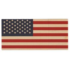 Patriotic American USA Flag Wood USB Flash Drive  $15.95  by topdivertntrend  - cyo customize personalize unique diy