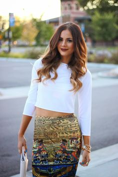 TRANSITIONING INTO FALL: CROP TOPS #2 | LovebyLynn