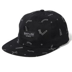 The Quiet Life – Secondary Polo hat – Black Graphics a24ea10c768c