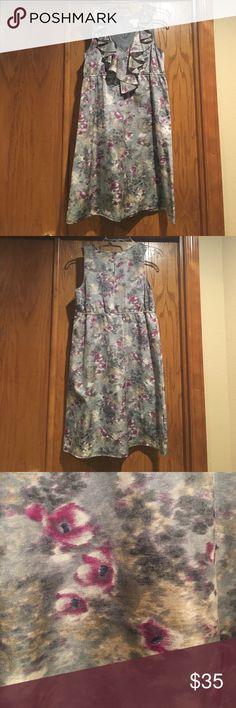 Spring-ready LOFT Dress Worn only a handful of times. LOFT Dresses Midi