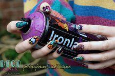INSA Nails graffiti