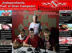 La portada de INDEPENDIENTE EL GRAN CAMPEON