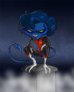 nightcrawler x men wearing his cross - Google Search