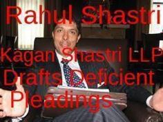 Rahul Shastri  Kagan Shastri LLP  188 Avenue Road Toronto, ON M5R 2J1 Phone: (416) 368-2100 Fax: (416) 368-8206 Email: info@ksllp.ca  http://www.ksllp.ca