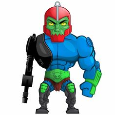 Trap Jaw from Masters of the Universe   Trap Jaw from Masters of the Universe He-Man