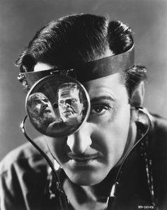 """Frankenstein - """"Son of Frankenstein"""", 1939 - Baron Wolf von Frankenstein (Basil Rathbone)"""