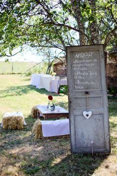 Décoration mariage theme guinguette