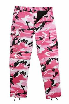 Ultra Force Pink Camouflage BDU Pants