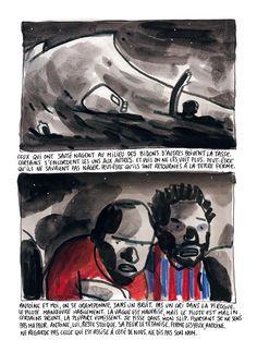 """La bédéthèque idéale #65 : """"Alpha"""", l'enfer des migrants raconté par Barroux - Livres - Télérama.fr"""