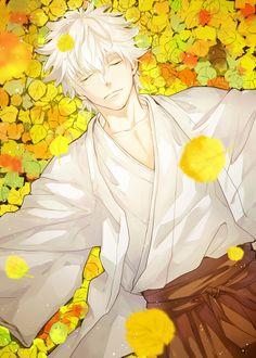 Sakata Gintoki  Anime-Manga: Gintama  Artist: http://www.pixiv.net/member.php?id=3452620
