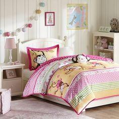 Mi Zone Kids Monkey Madness 4-piece Comforter Set - 17077277 - Overstock.com Shopping - The Best Prices on Mi-Zone Kids' Comforter Sets
