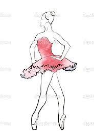 Dibujos Para Colorear De Bailarinas De Ballet Dibujos Para