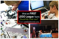 What are FIRST LEGO League Teams? Should my child join? from waddleeahchaa.com