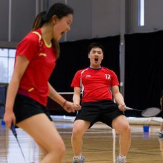 HAPPY DANCE OR CUTTING RUG? You tell us! SICK Bujak XD win MAK ATTACK and SOMMER! KUDOS! www.shopbadmintononline.com Be Bold | Achieve More #MakeTheChange!