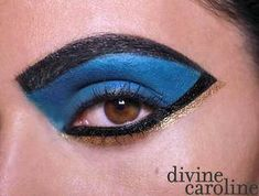 Halloween Makeup How-To: Cleopatra Eye