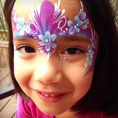 flower fairy face paint - Buscar con Google