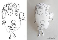 Muñeco personalizado dibujo niña