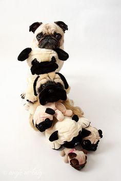 pile o' pugs
