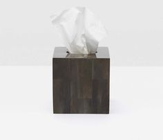 Arles Tissue Box - Pigeon and Poodle Modern Baths, Tissue Boxes, Hand Towels, Earthy, Bathroom Accessories, Dark, Bathroom Fixtures, Towels