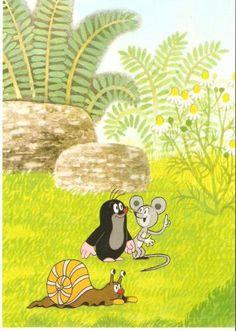 (2014-08) Muldvarpen snakker med musen La Petite Taupe, Dreamworks, Woodland Creatures, Pusheen, Mole, Book Illustration, My Childhood, Tweety, Disney