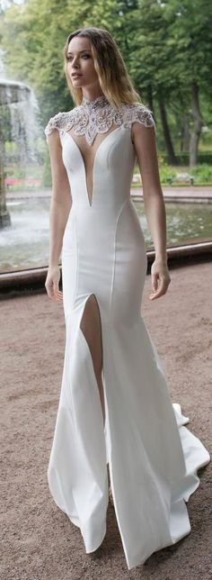 White Evening Dress High Slit Prom Dress Sexy Mermaid White Party Dress, Shop plus-sized prom dresses for curvy figures and plus-size party dresses. Ball gowns for prom in plus sizes and short plus-sized prom dresses for