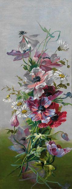 Artist painter . Emilie Mediz-Pelikan 1861 - 1909