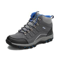 56.90$  Buy now - http://aliyu5.worldwells.pw/go.php?t=32736498765 - hot sale hiking shoes outdoor sapatilhas climbing camping trekking boots sneakers men hunting Rubber Medium(B,M) Lace-Up  2016