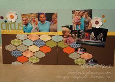 Stampin' Up! International Bazaar & Apothecary Accents Scrapbook Layout