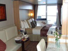 Celebrity Cruises Solstice Class | Celebrity Solstice Concierge Class Cabin