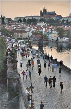 Charles Bridge, Prague, Czech Republic Love it here!