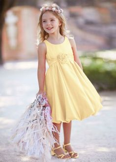 19 best possible flower girl dresses images on pinterest girls sweet and very chic this satin bubble dress will be perfect for your flower girl on your special day satin tank bodice features fashion forward bubble hem mightylinksfo