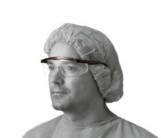 87a523a796 These safety glasses provide economical and practical protection. Built-in  brow bar and side
